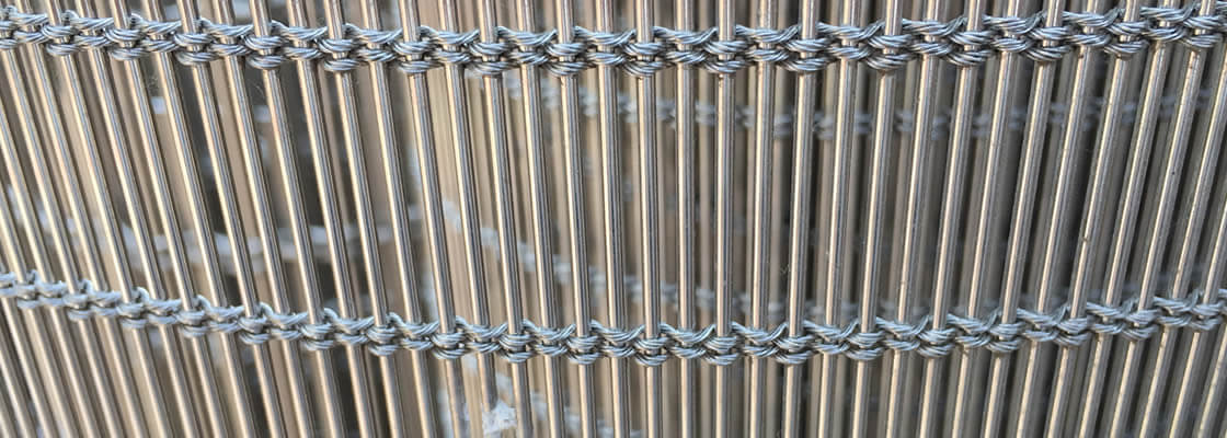 Stainless steel cable mesh details