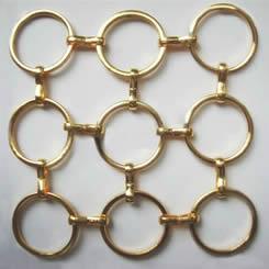 Decorative Ring Metal Mesh Werson Wire Mesh Fence Co Ltd