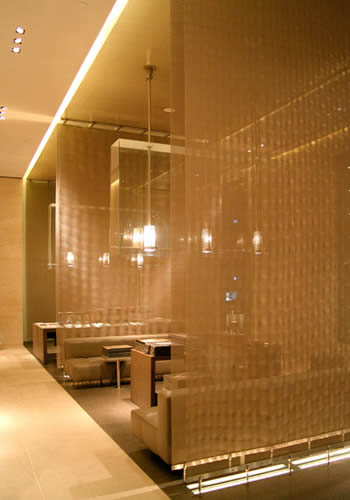Decorative Metal Mesh Used For Space Dividers Or Partitions