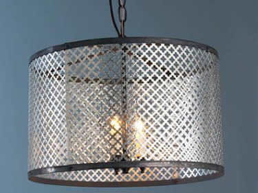 Architectural Metal Mesh For Lamp Decoration