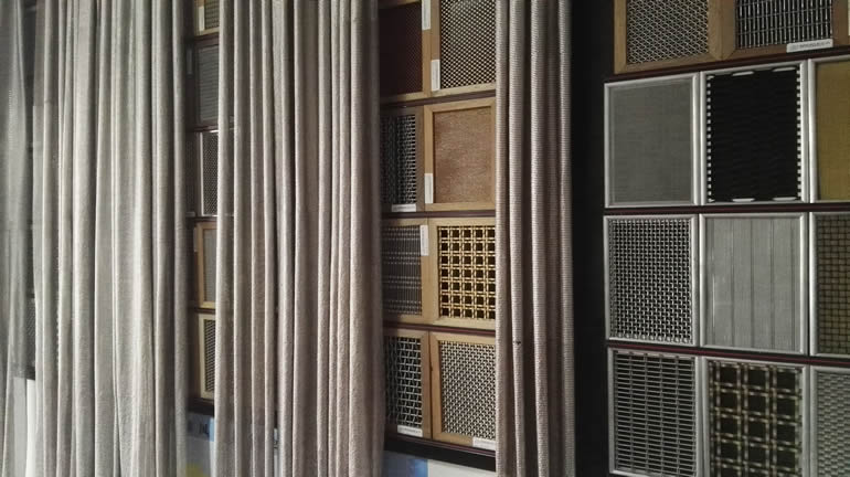 Laminated Glass Wire Mesh Interior Exterior Decoration
